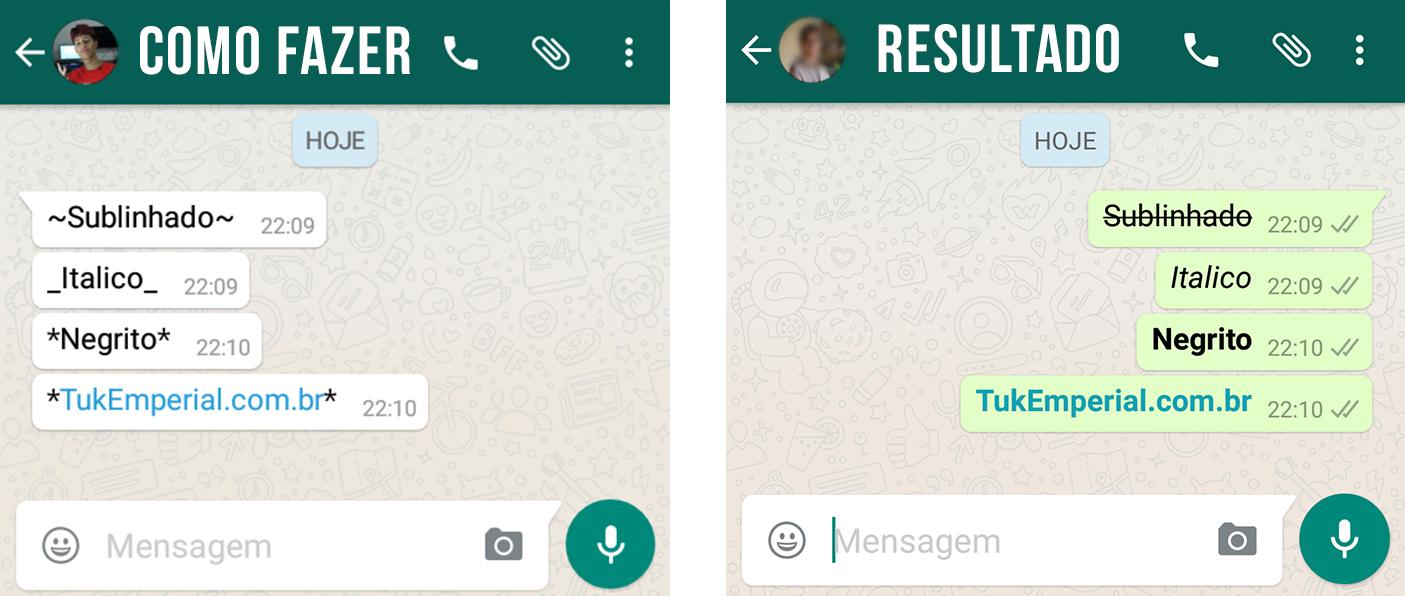 Whatsapp negrito italico