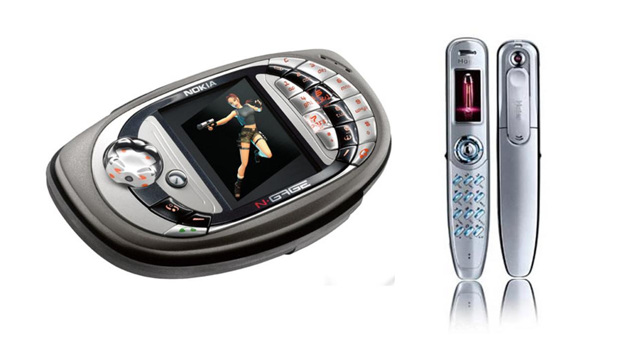 Os 10 celulares mais bizarros que existe