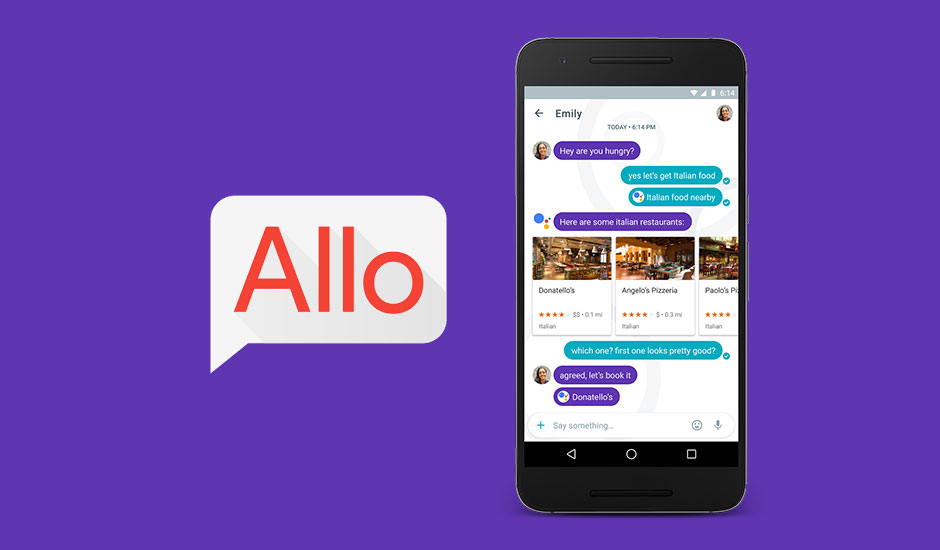 Como responder as mensagens do Google Allo no PC
