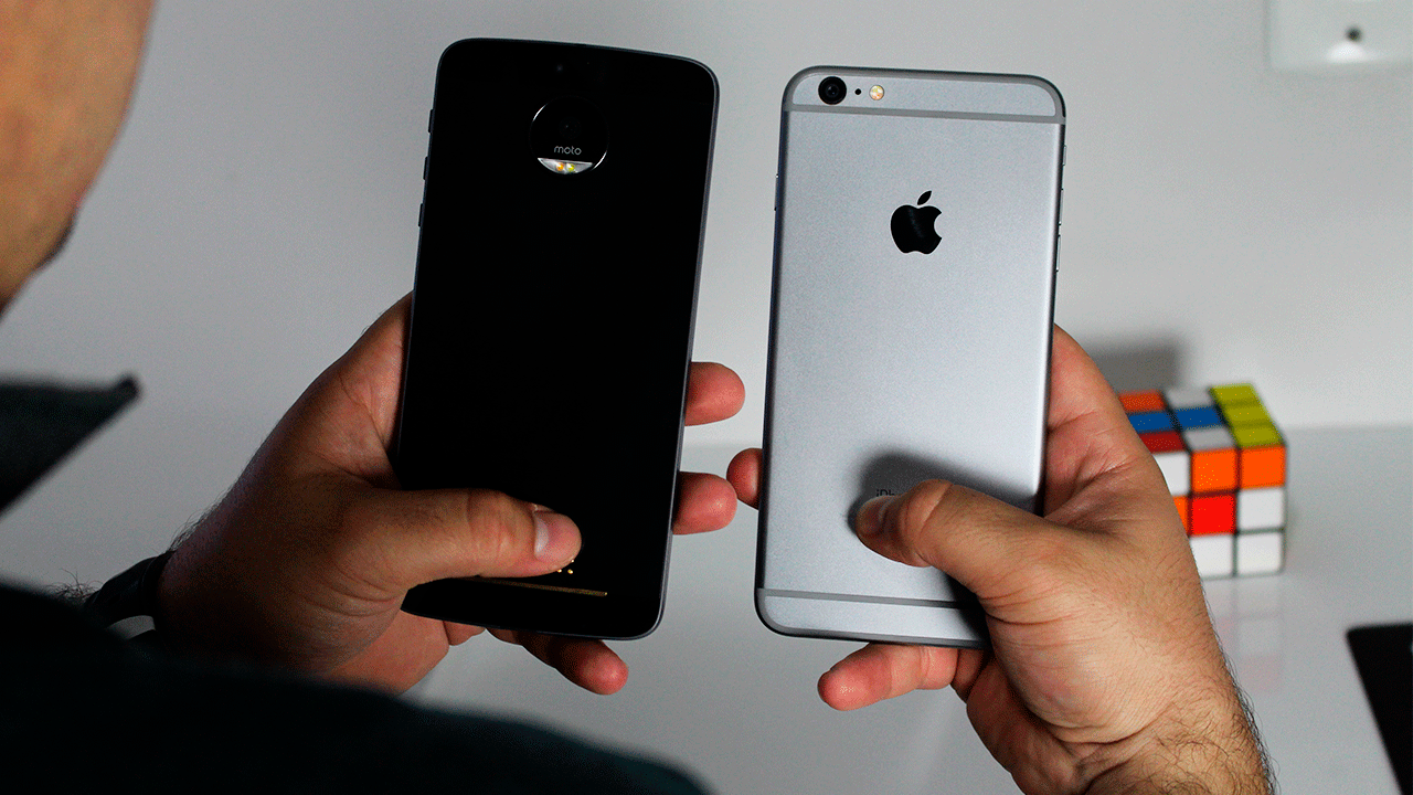Moto Z vs Iphone 6 Plus – Comparativo | Mesmo preço, qual compro?