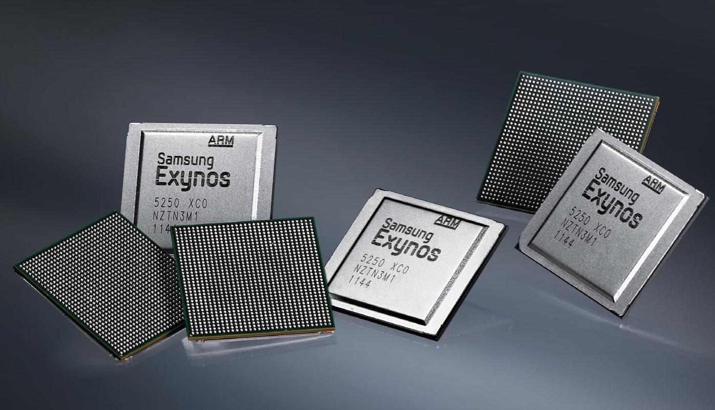 Novo Exynos da Samsung aparece em duas versões