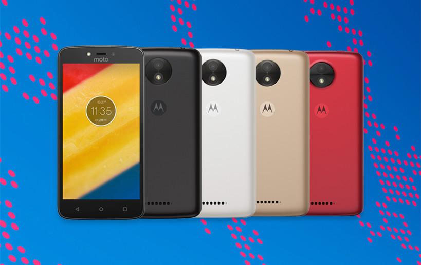 Moto C e C Plus são lançados pela Motorola