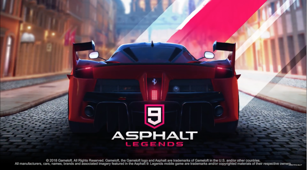 Gameloft anuncia Asphalt 9: Legends para Android e iOS
